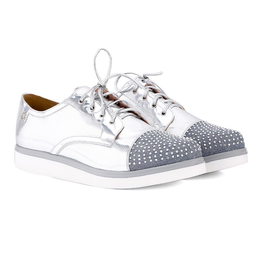 Tennis Shoe with Hotfix