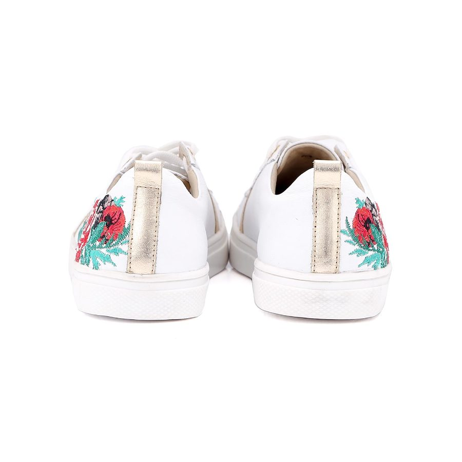 Tennis Shoe with Embroidery