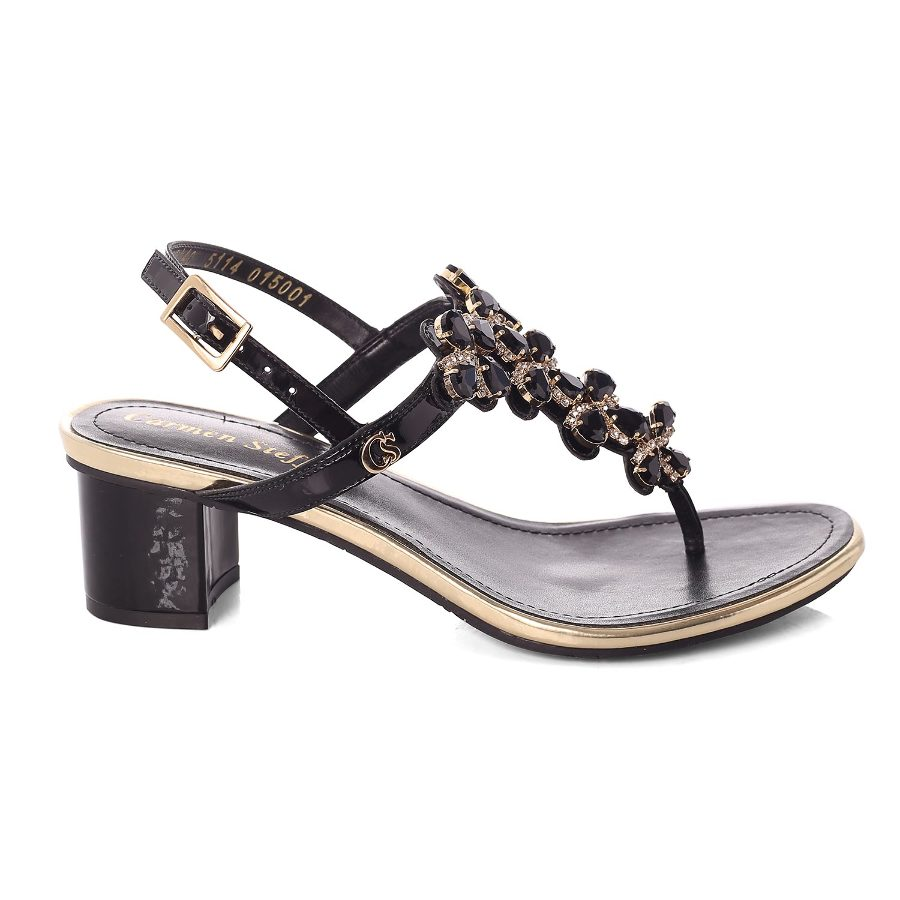 Sandal with Metal