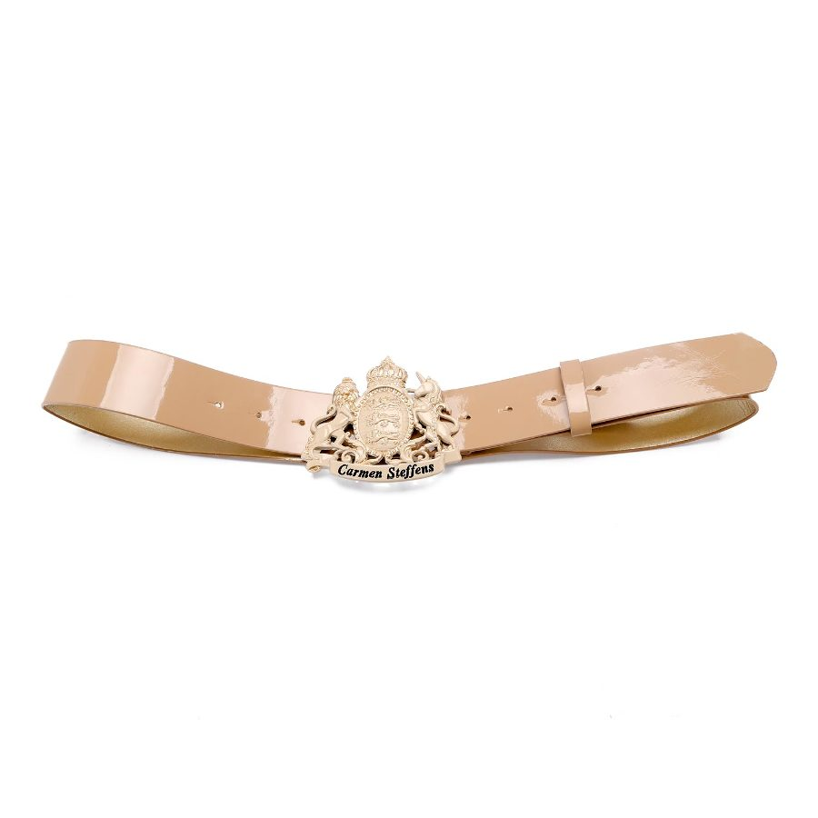 Belt with Unicorn Buckle