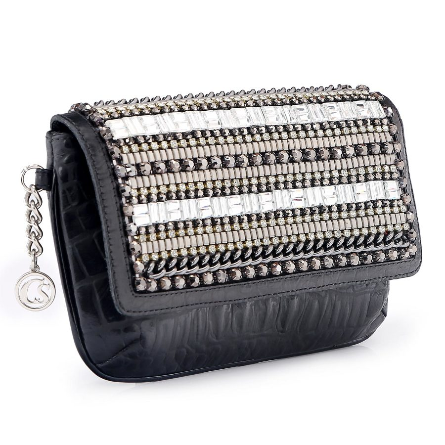 Wallet with Metal Applique