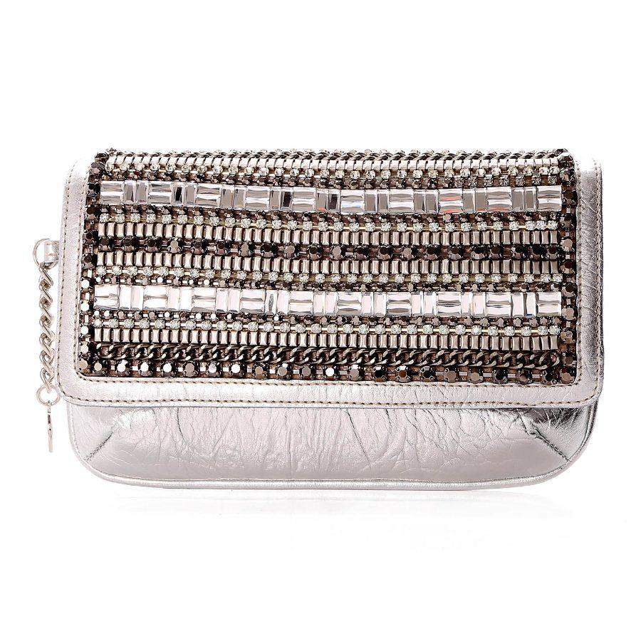 Wallet with Metal Applique