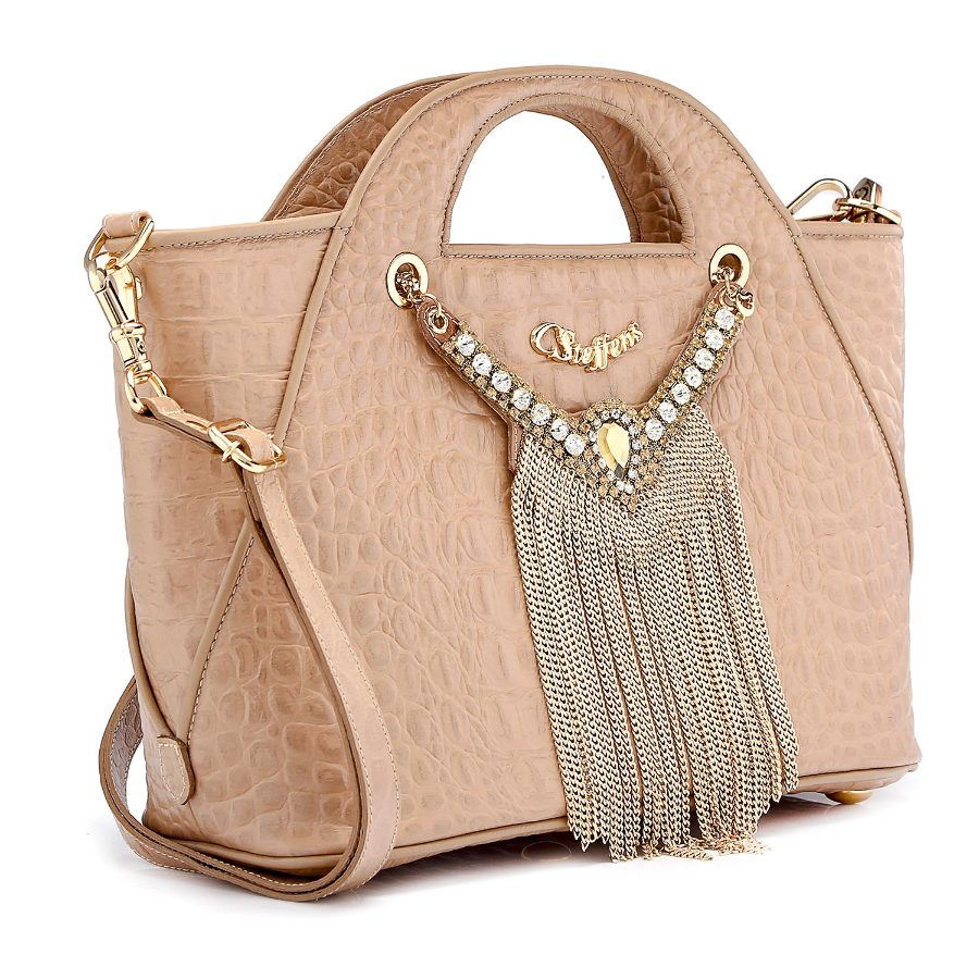 Handbag with Necklace