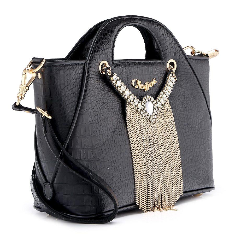 Handbag with Necklace
