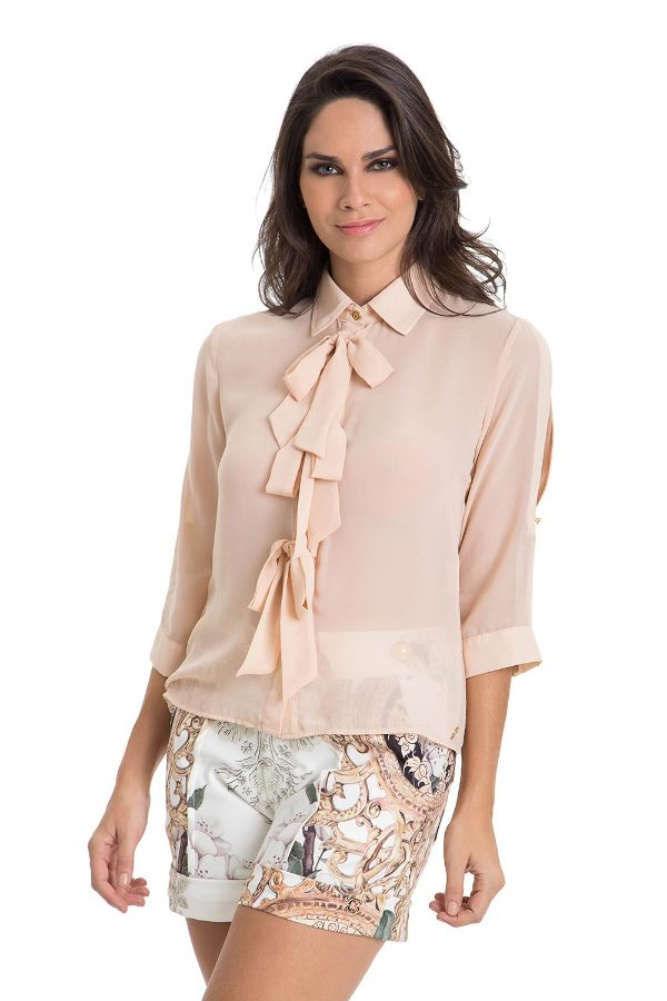 Shirt with Bows