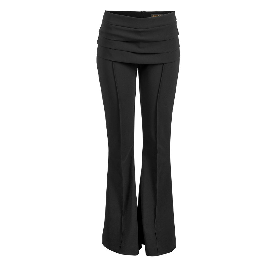 Flare Pants with Darts