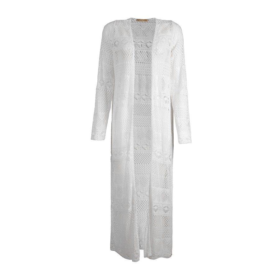 Long-Sleeved Full-Length Kimono