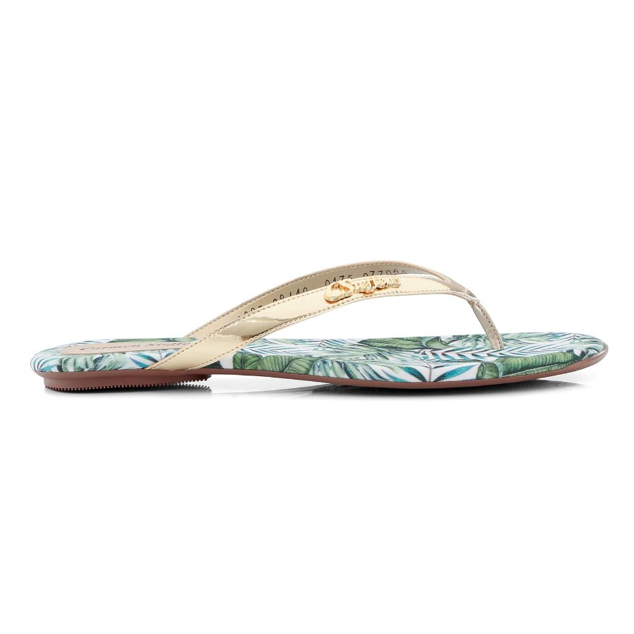 FLAT SANDAL WITH Floral PRINT