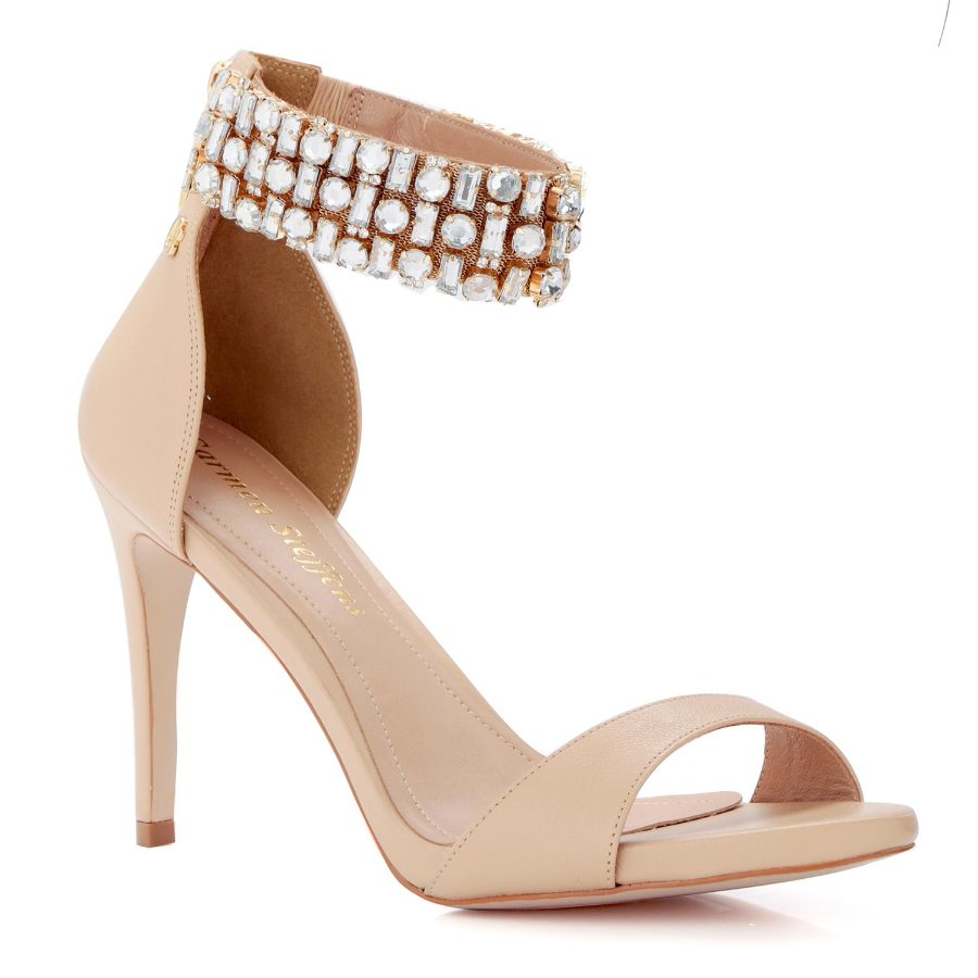 SANDAL WITH CRYSTALS