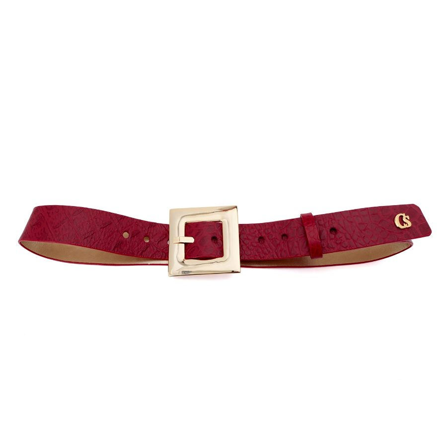 BELT WITH SMOOTH BUCKLE