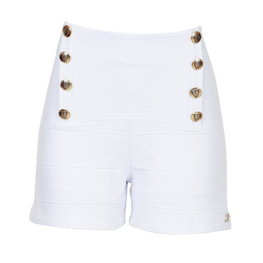 MINI-SHORTS WITH BUTTONS