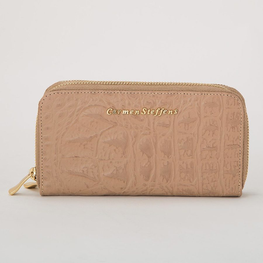 CARMEN STEFFENS ZIPPERED WALLET