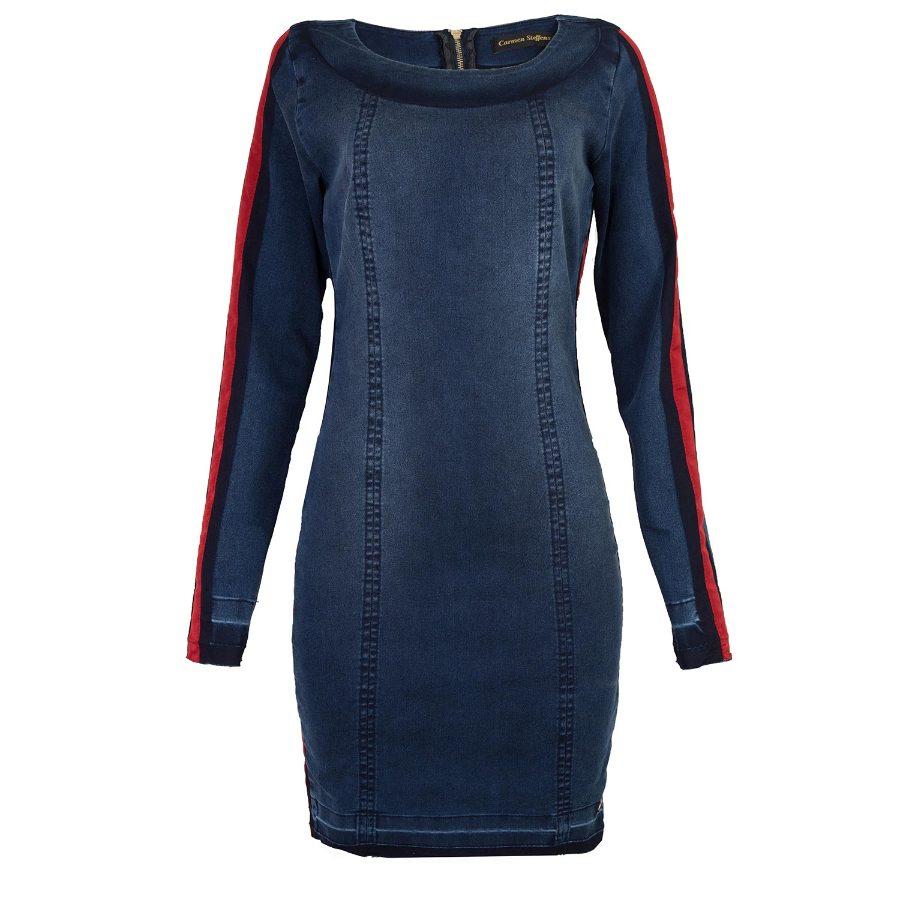 LONG SLEEVE DRESS WITH DETAIL