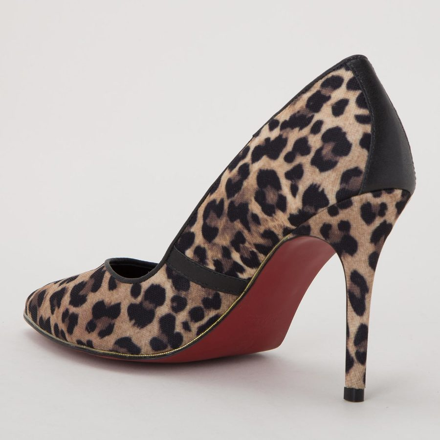 STILETTO WITH PIPING