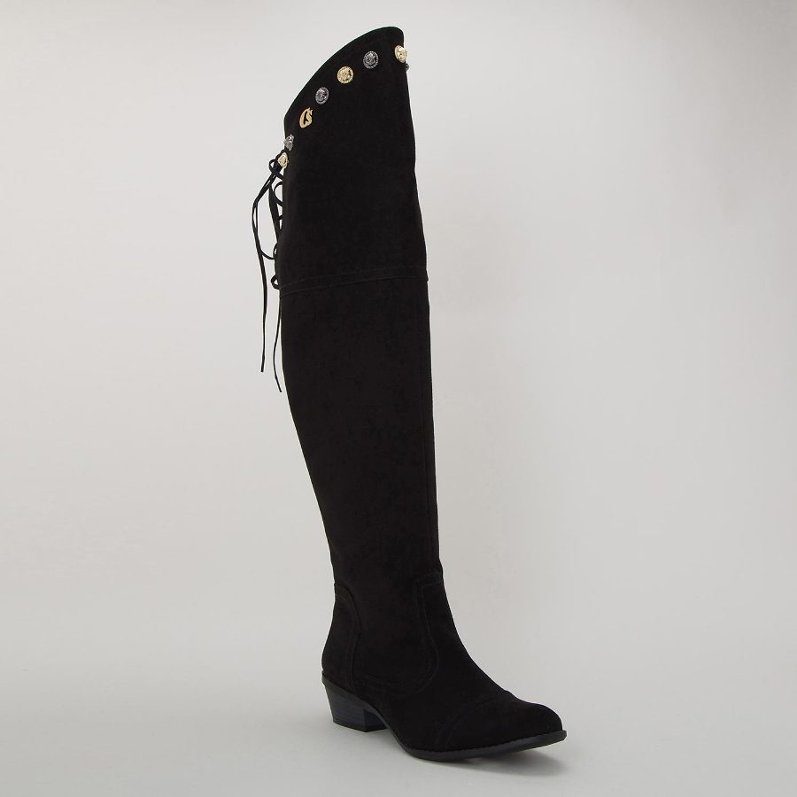 OVER THE KNEE BOOT WITH METALS