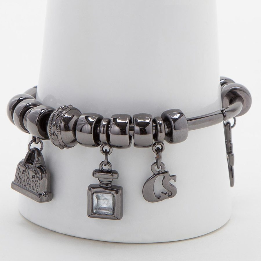 METAL BRACELETS WITH CHARMS