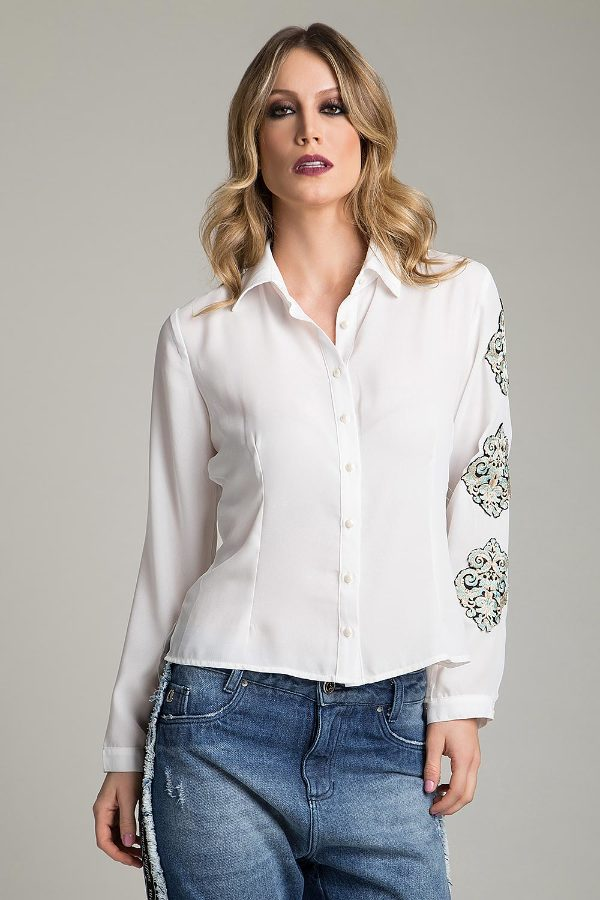 BASIC SHIRT WITH PATCH
