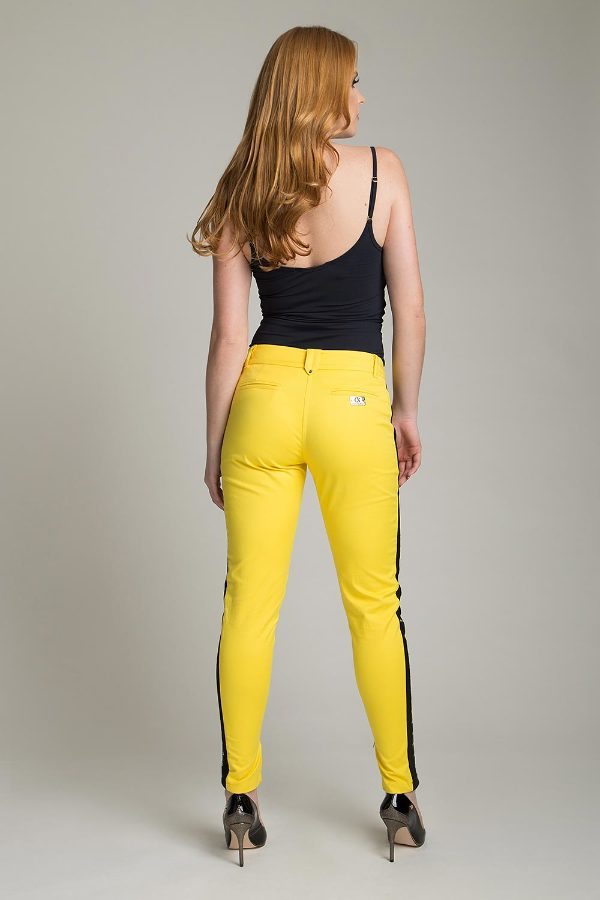 SKINNY PANTS WITH SIDE ZIPPER