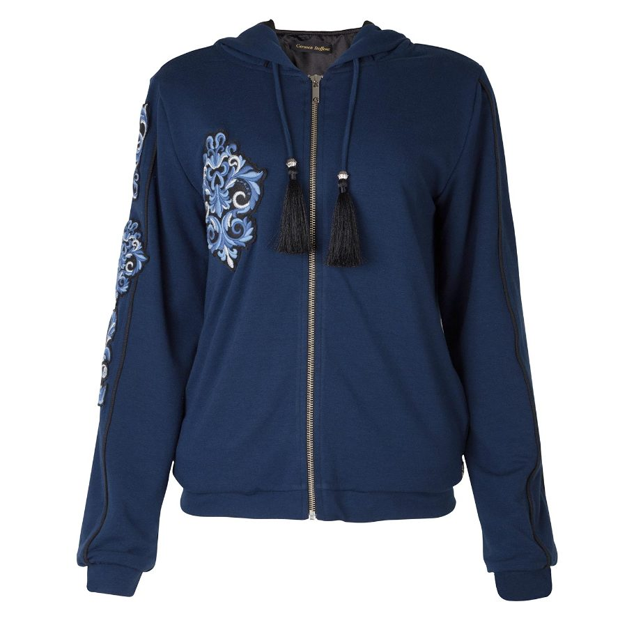 SWEAT SHIRT WITH PATCH
