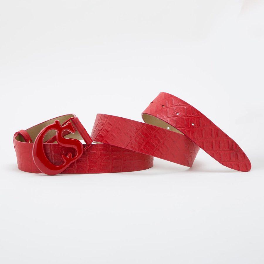 Belt with CS buckle