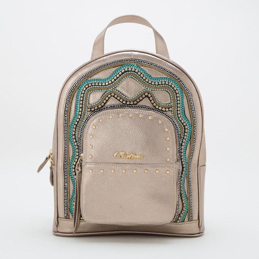 BACKPACK WITH APPLIQUE