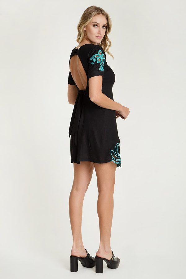 EMBROIDED DRESS