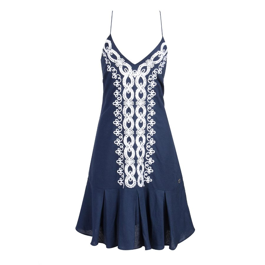Sundress with embroidery