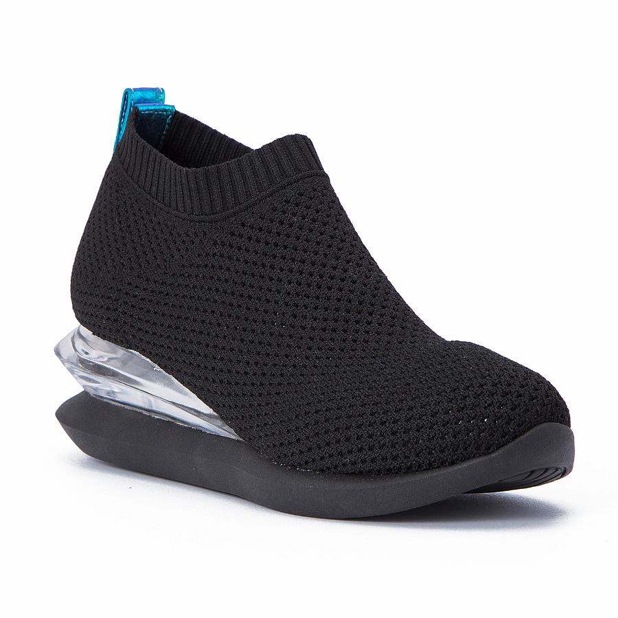 High-Top Stretchy Knitting Sock Sneakers