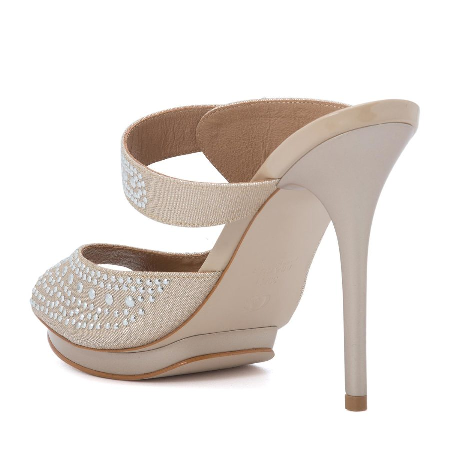 HIGH HEELED PEEP TOE