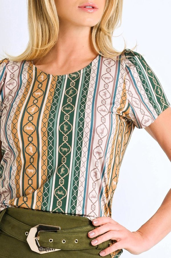 Labirinto Printed T -shirt