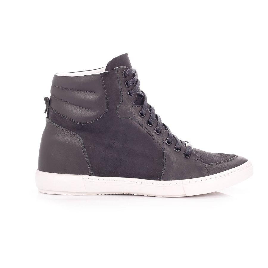 Black Oxford Tennis Shoe