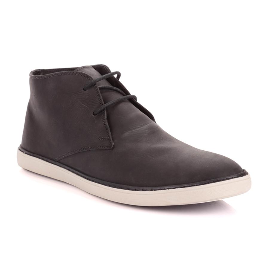Black High-Top Shoe