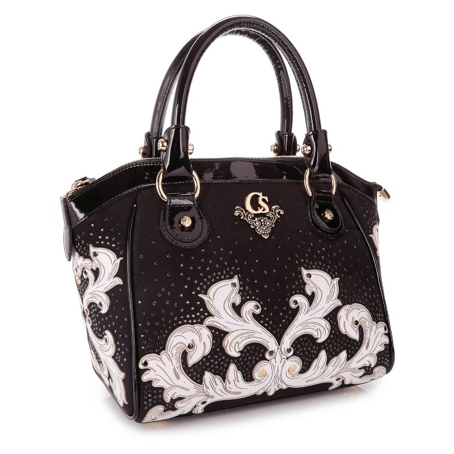 HANDBAG WITH LASER DESIGN