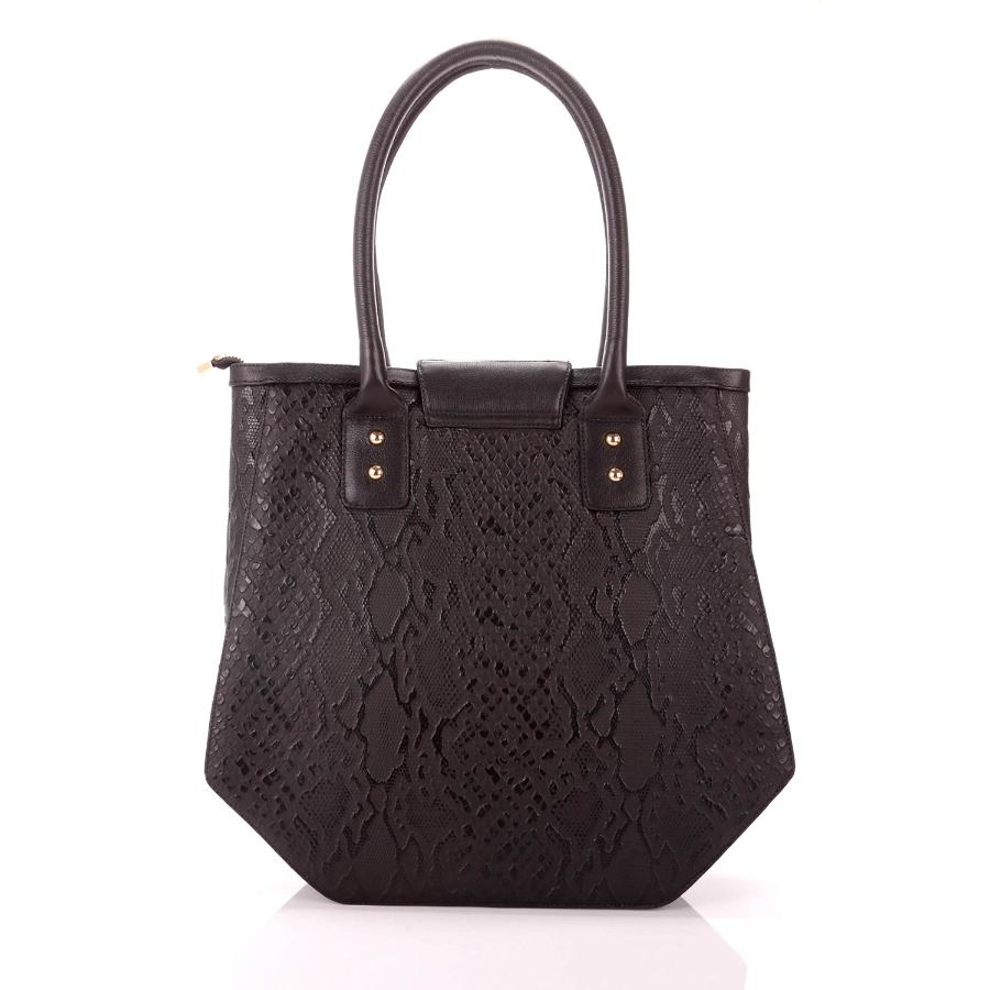 HANDBAG WITH LAPEL