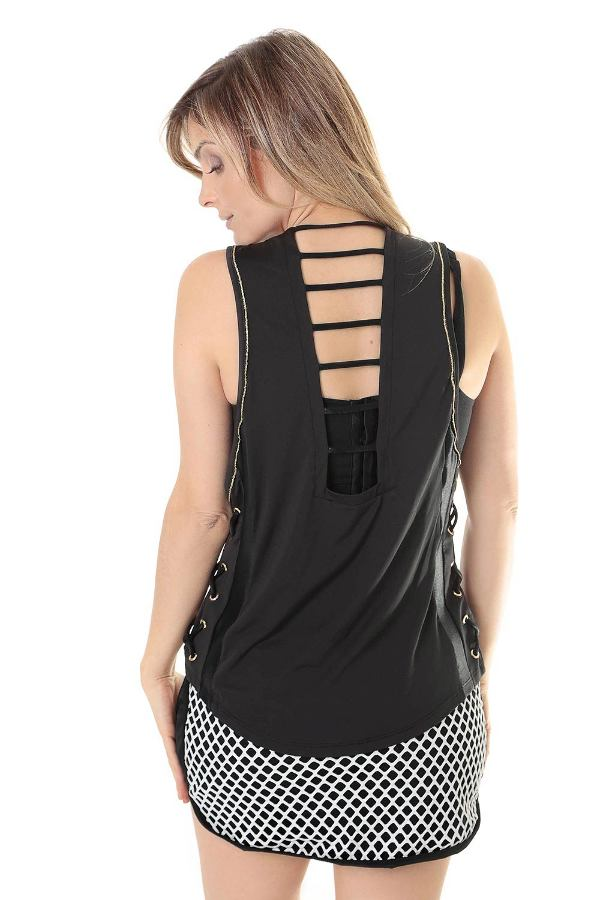FITNESS TANK TOP WITH DETAILS