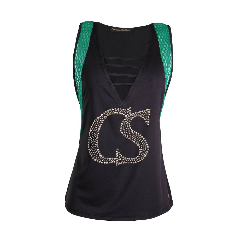 FITNESS BLOUSE WITH DETAILS