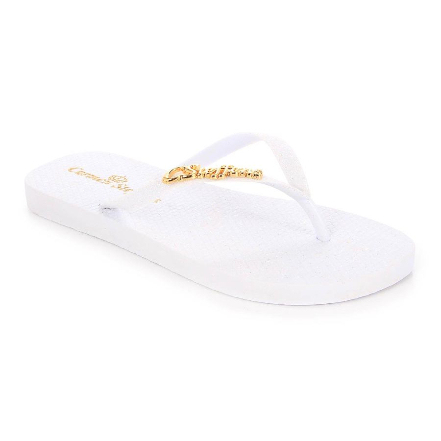 FLIP-FLOP WITH PERSONALIZED METAL