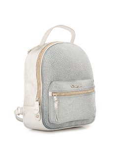 BACKPACK WITH CRYSTAL APPLIQUE back
