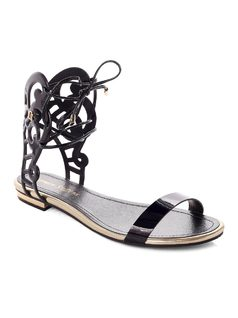 Flat Sandal With Cutouts front