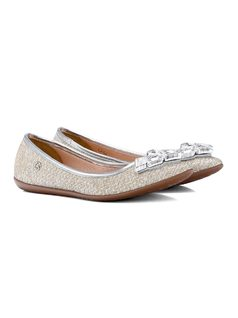 Texturized Slip-On with Decoration back