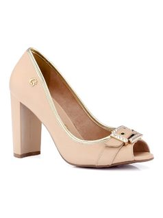 Peep-Toe with Buckle front