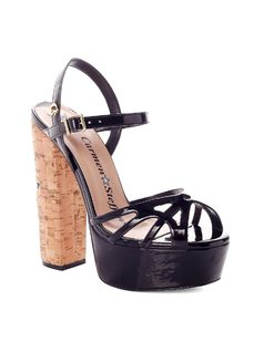 Platform Shoe with Star
