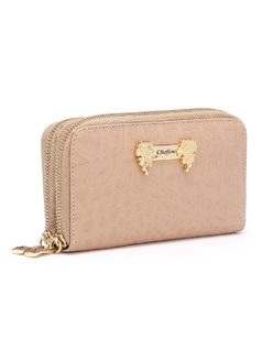 Wallet with Carmen Steffens Plate back