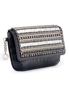 Wallet with Metal Applique back