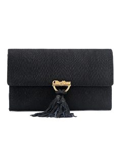 Wallet with Tassel front