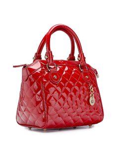 Handbag with Matelassé back