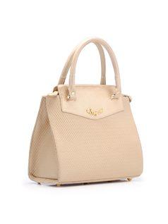 Handbag with Cutouts back