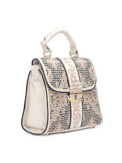 Handbag with Laser back
