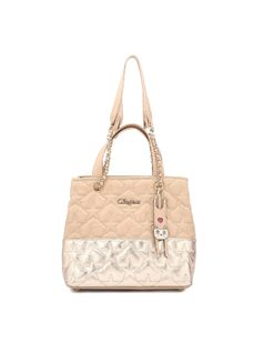 Handbag with Matelassé front