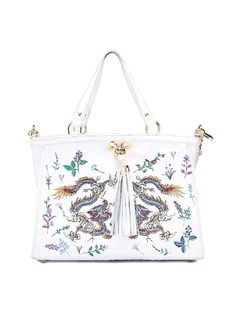 Handbag with Embroidery